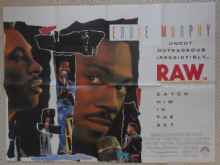 Eddie Murphy is Raw, Original UK Quad Poster, '87